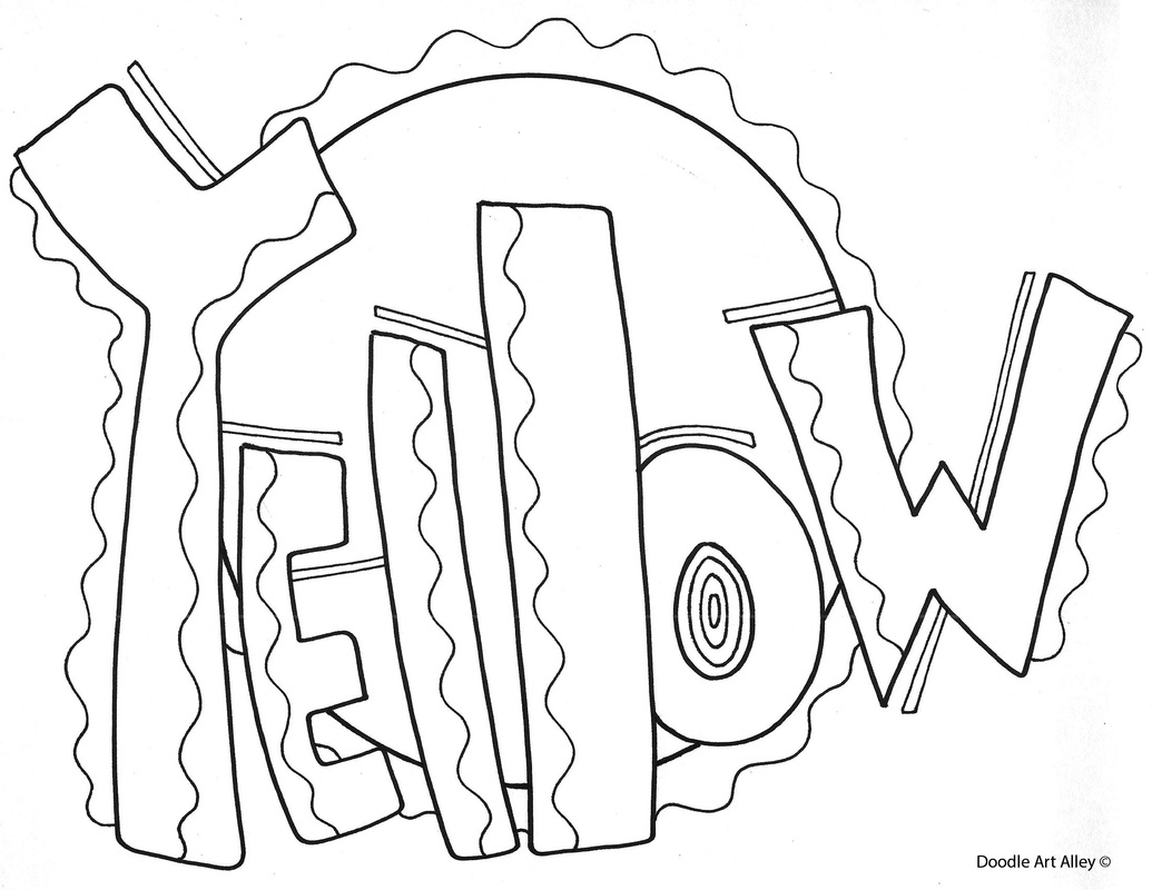 Color Yellow Coloring Pages At Getcolorings