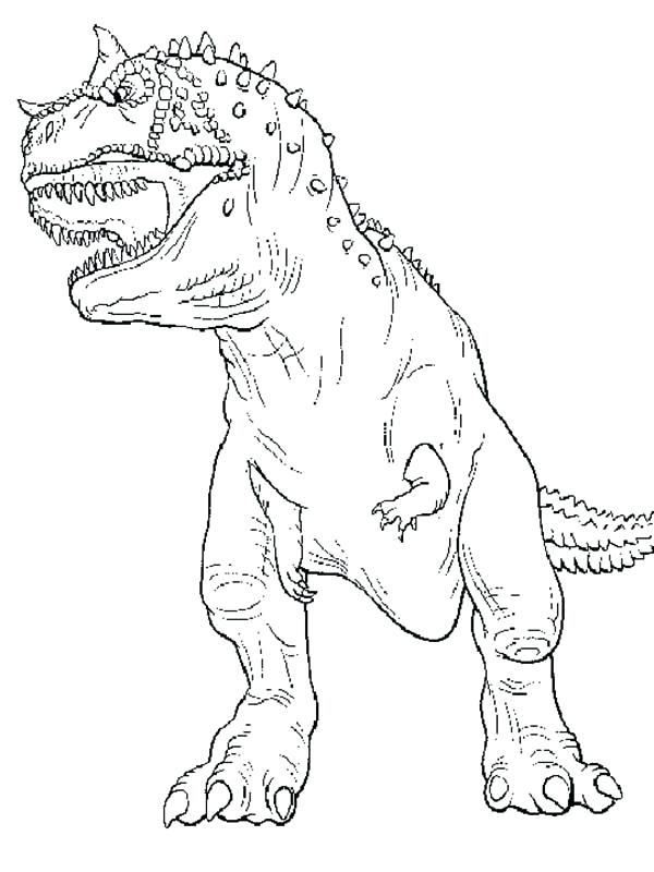 trex coloring page # 57