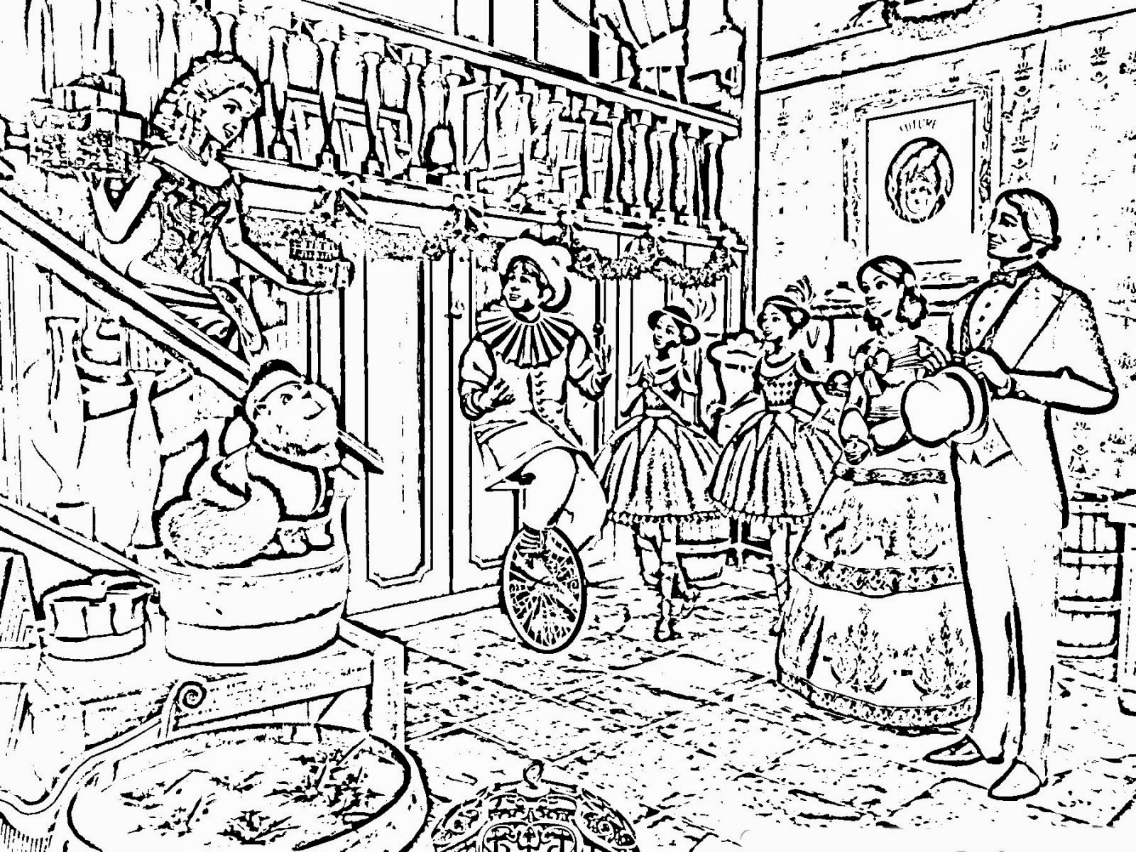 Complex Christmas Coloring Pages At Getcolorings