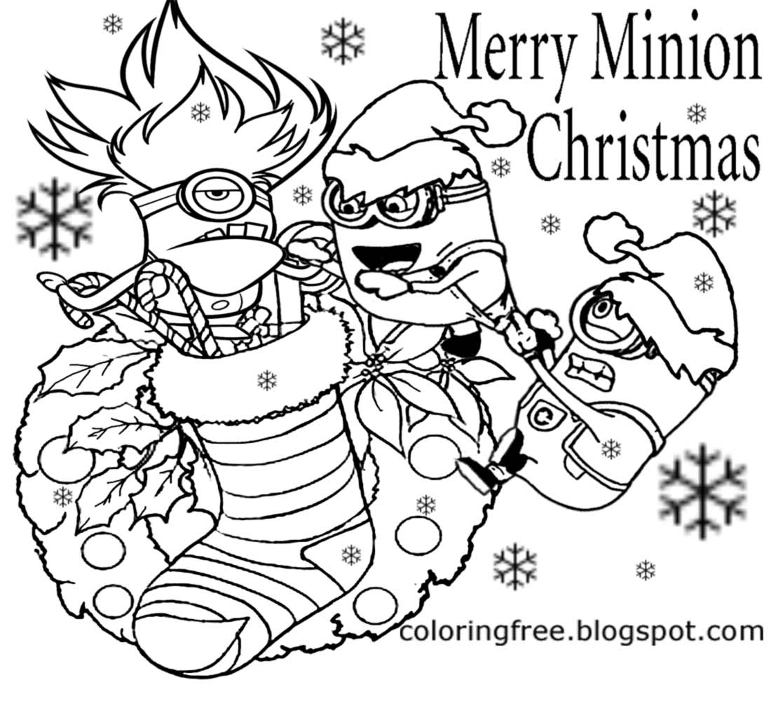 Cool Christmas Coloring Pages At Getcolorings