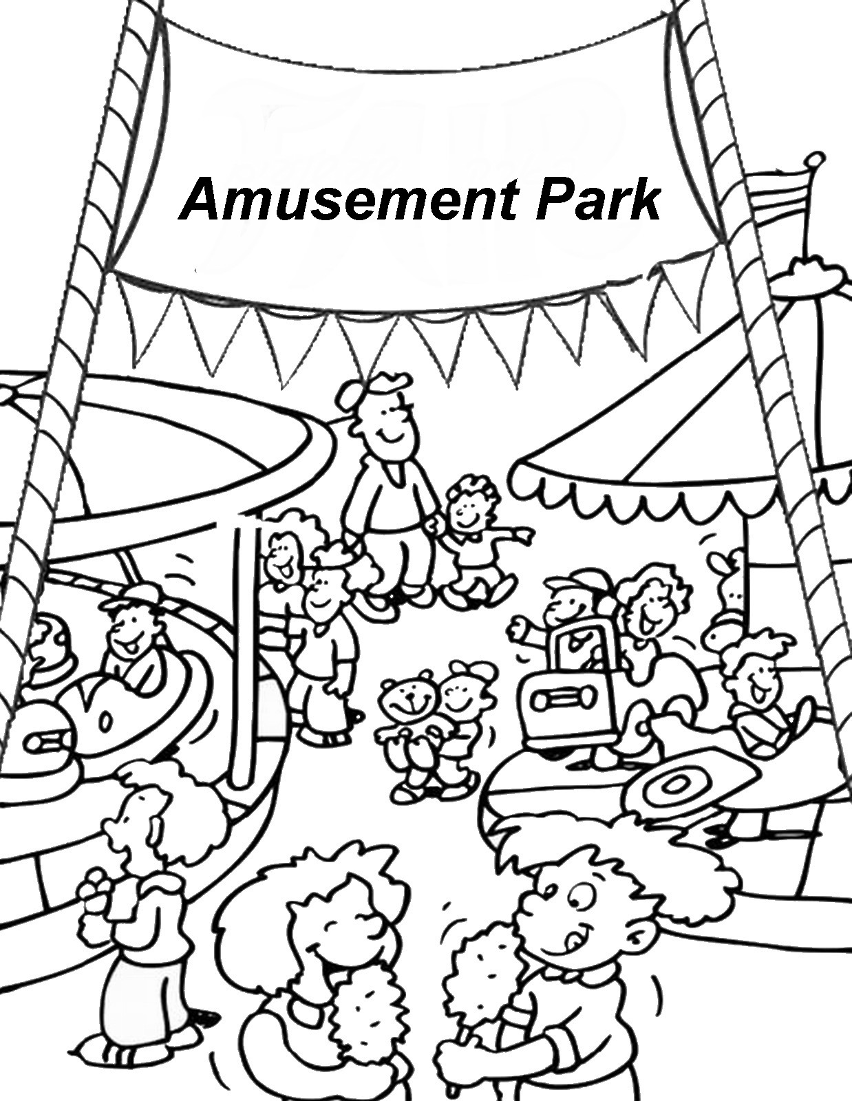 Fair Coloring Pages At Getcolorings