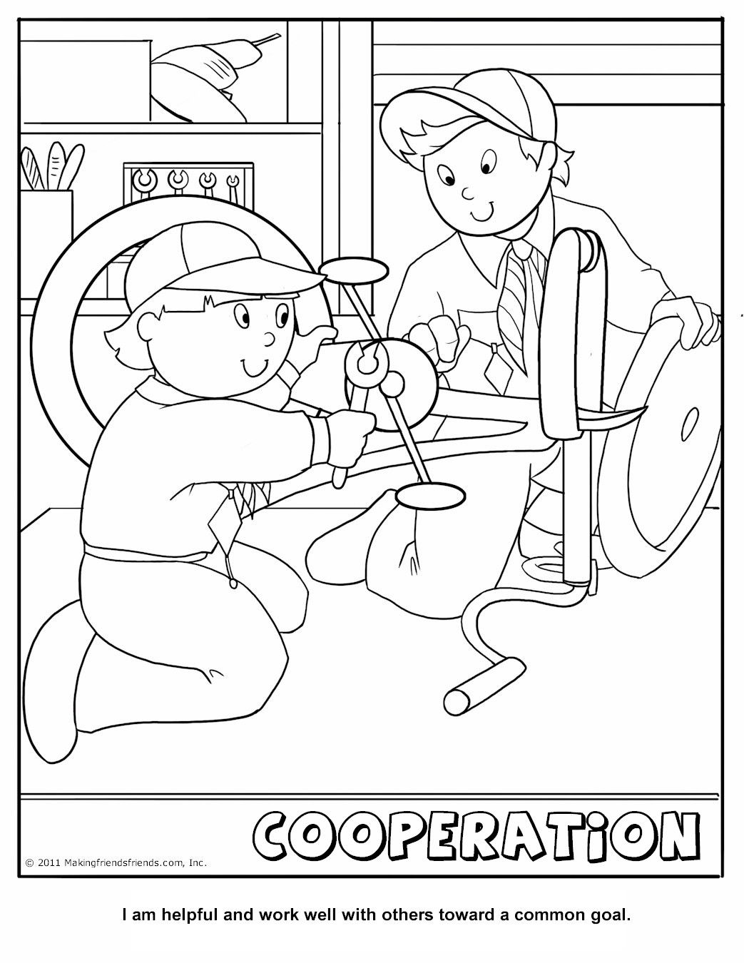Cub Scout Coloring Pages At Getcolorings