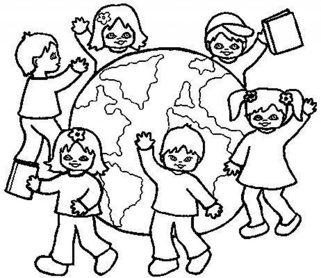 Cultural Diversity Coloring Pages At Getcolorings