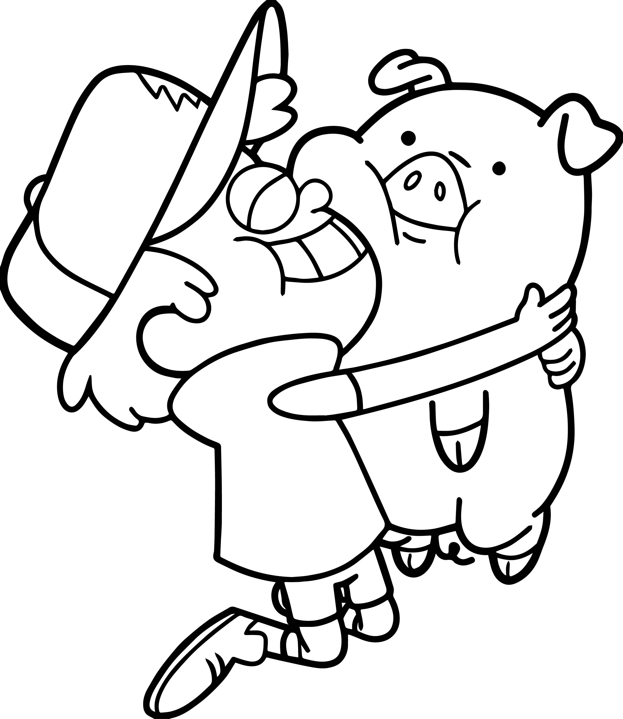 Cute Best Friend Coloring Pages At Getcolorings