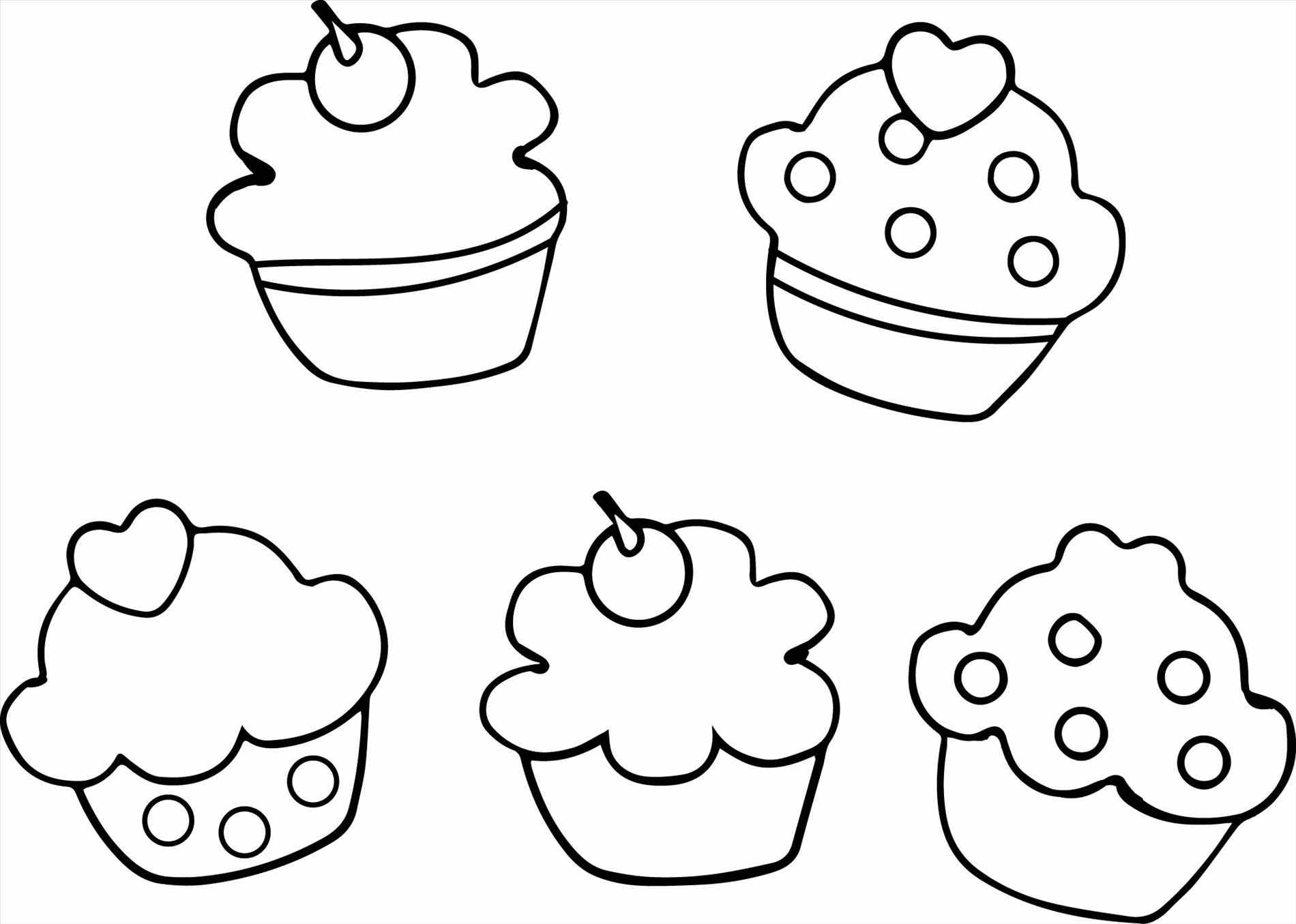Cute Cupcake Coloring Pages At Getcolorings