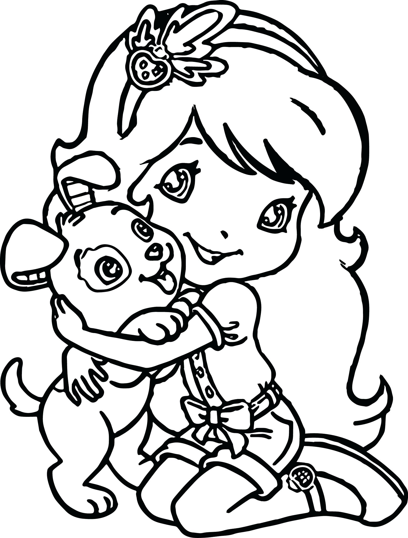 Cute Girly Coloring Pages At Getcolorings