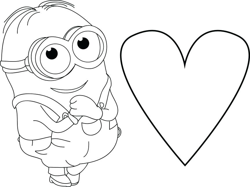 Cute heart coloring pages getcoloringscom free, puppy love coloring pages