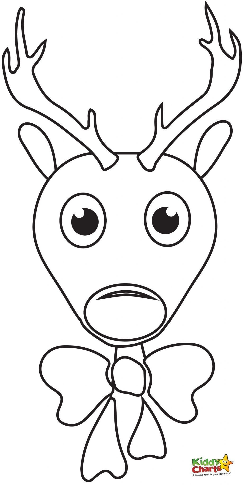 Cute Rudolph Coloring Pages At Getcolorings