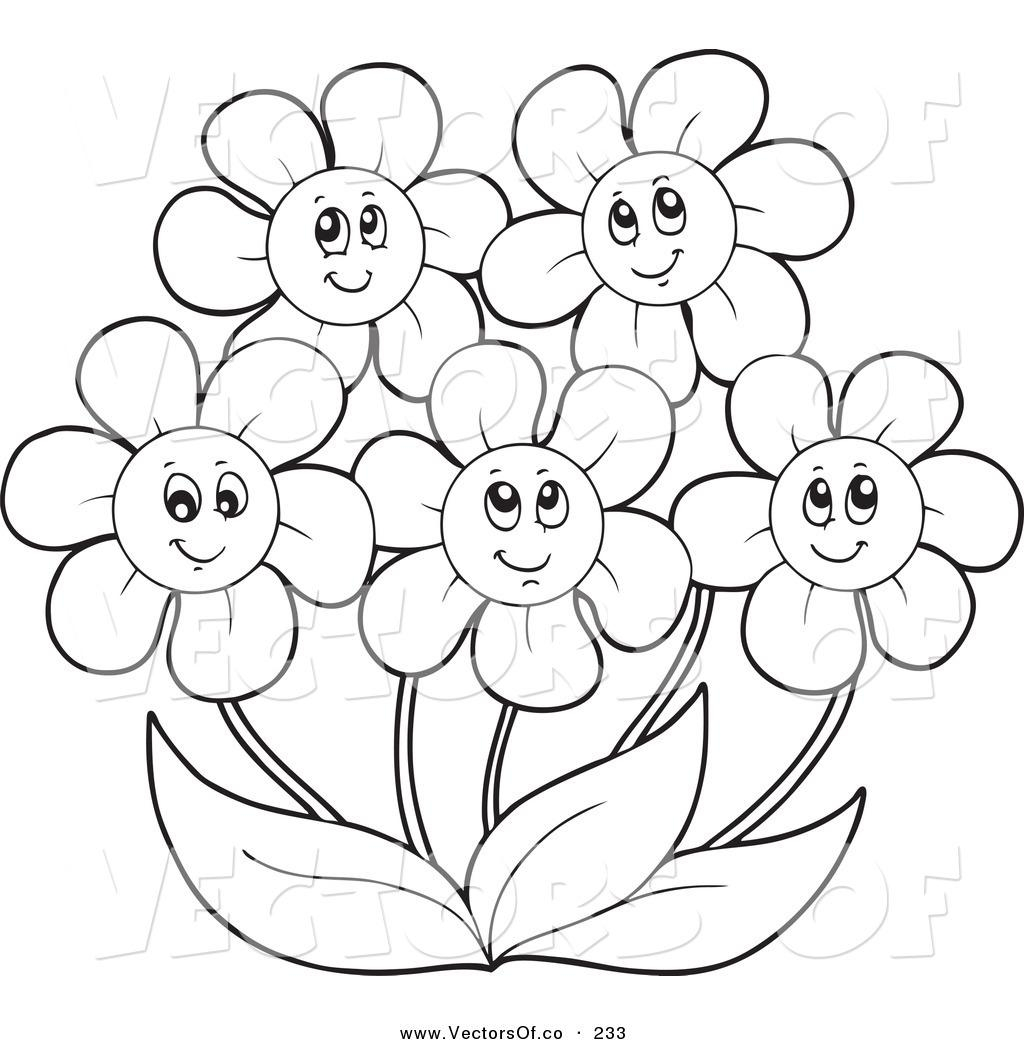 Daisy Flower Coloring Pages At Getcolorings