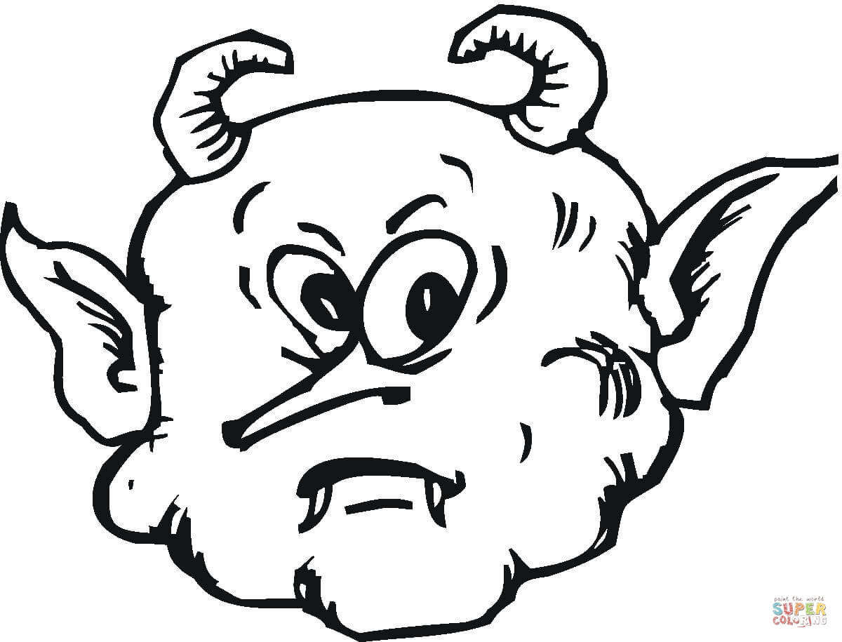 Demon Coloring Pages At Getcolorings