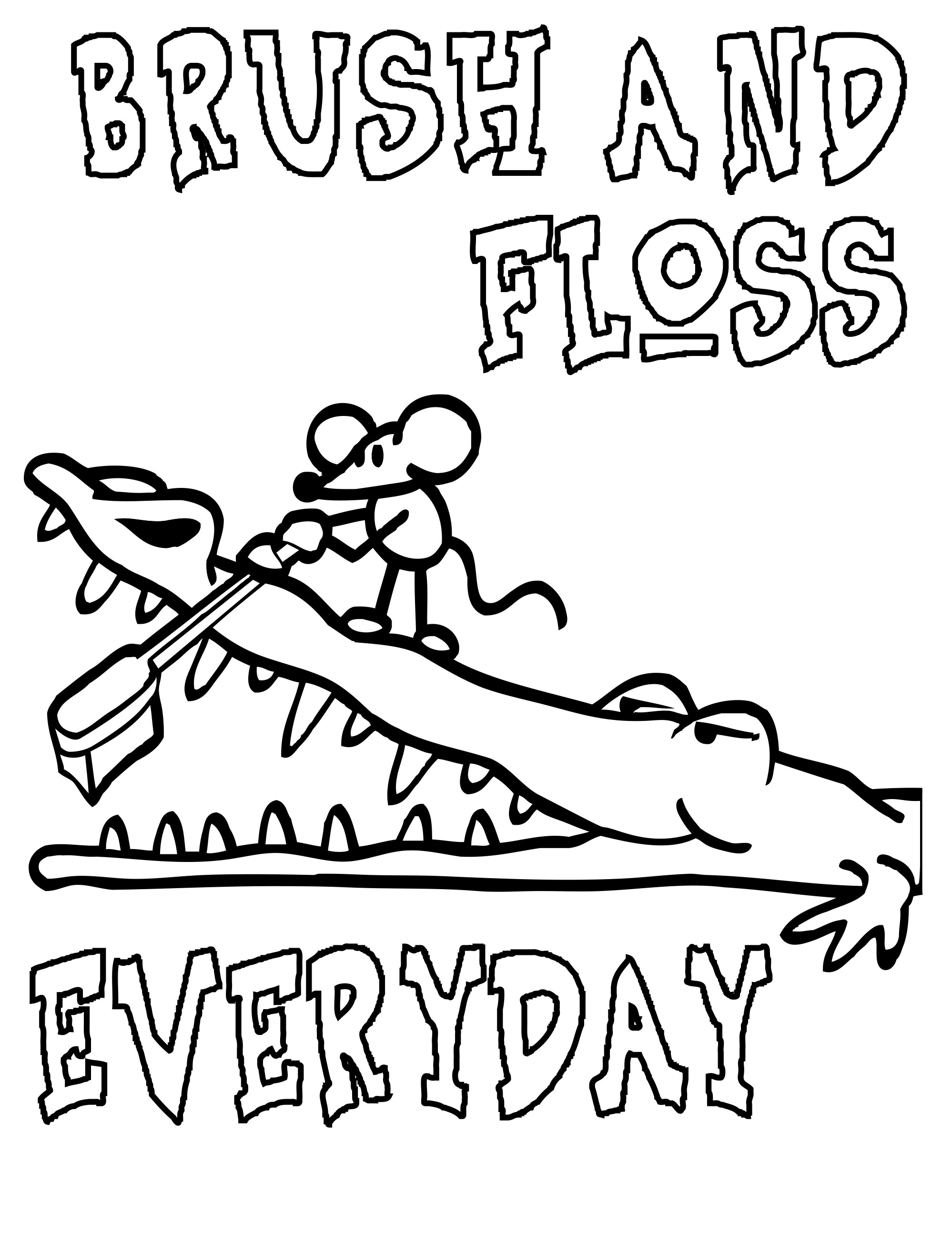 Dental Coloring Pages Printable At Getcolorings