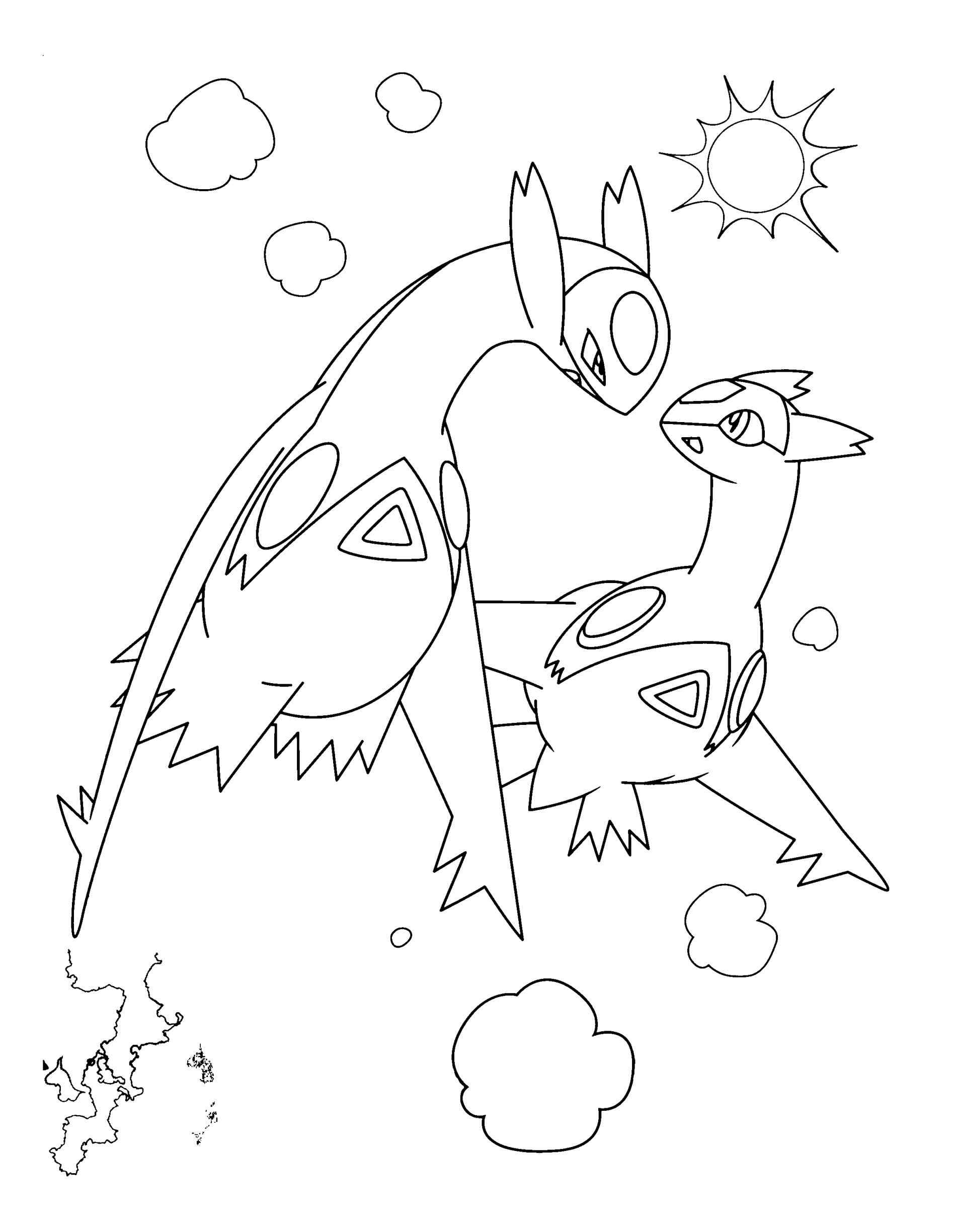 Deoxys Coloring Page At Getcolorings