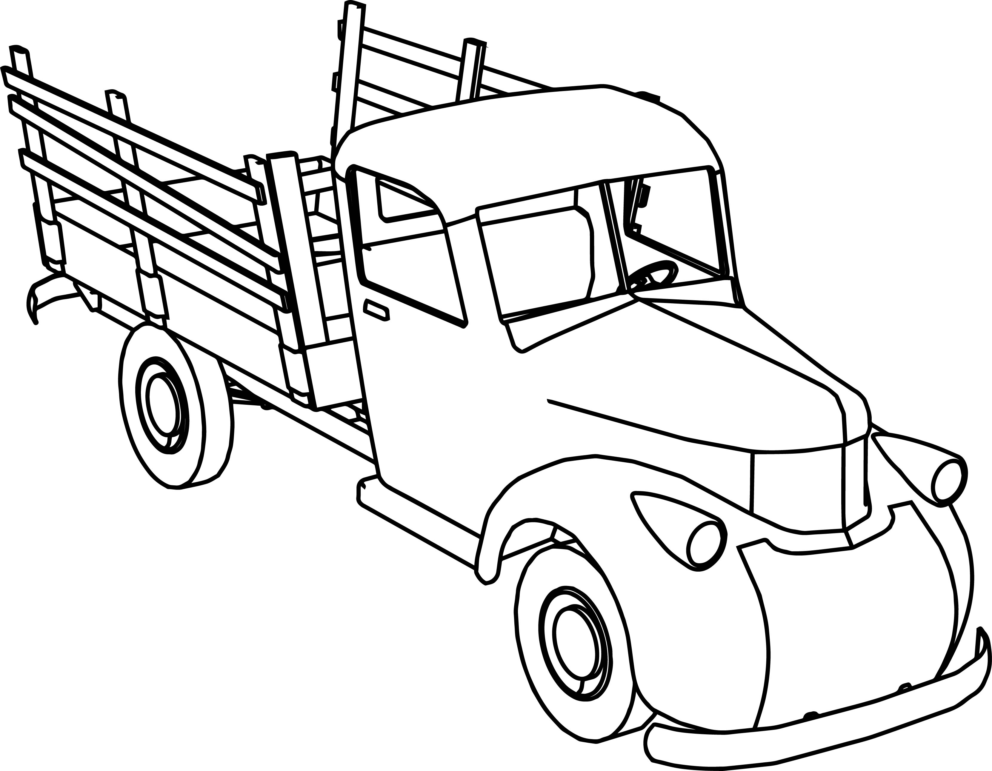 Sel Truck Coloring Pages At Getcolorings