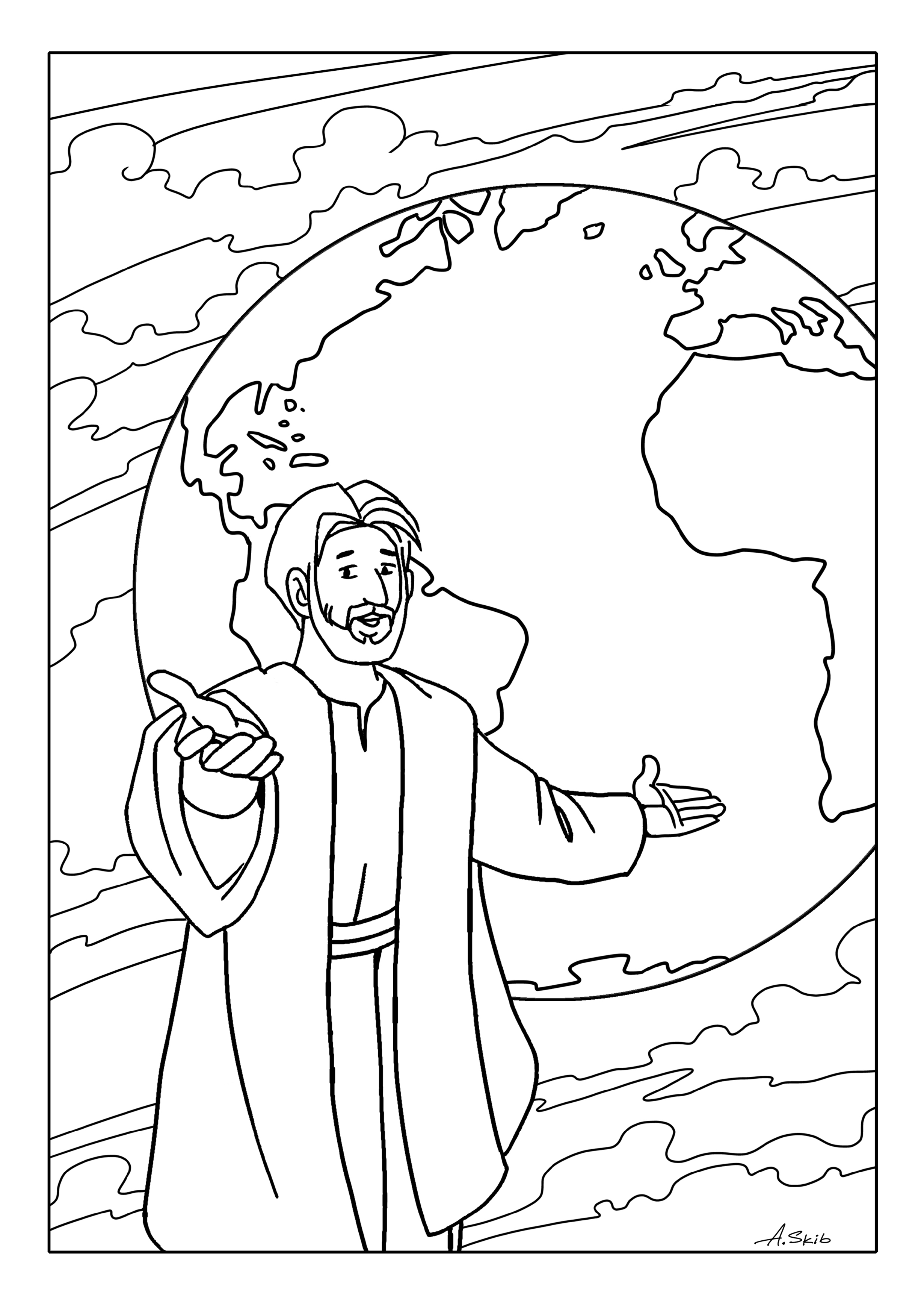Disciples Coloring Pages Printable At Getcolorings