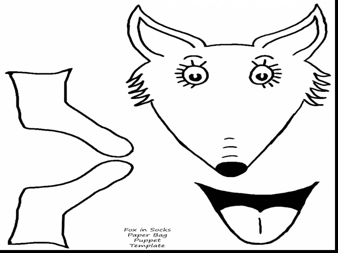 Dr Seuss Hat Coloring Page At Getcolorings