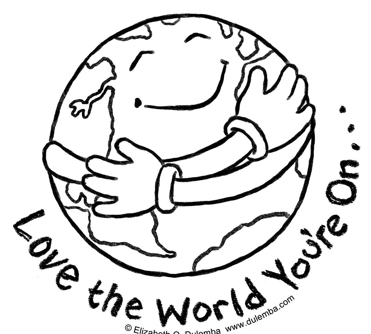 Earth Day Printable Coloring Pages At Getcolorings