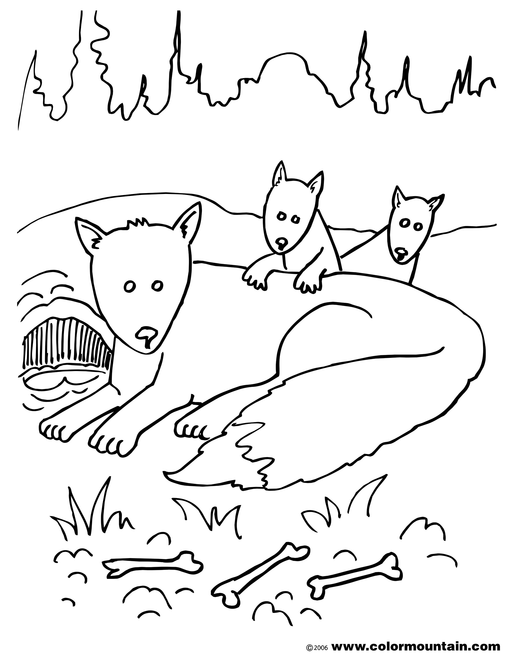 Fantastic Mr Fox Coloring Pages At Getcolorings