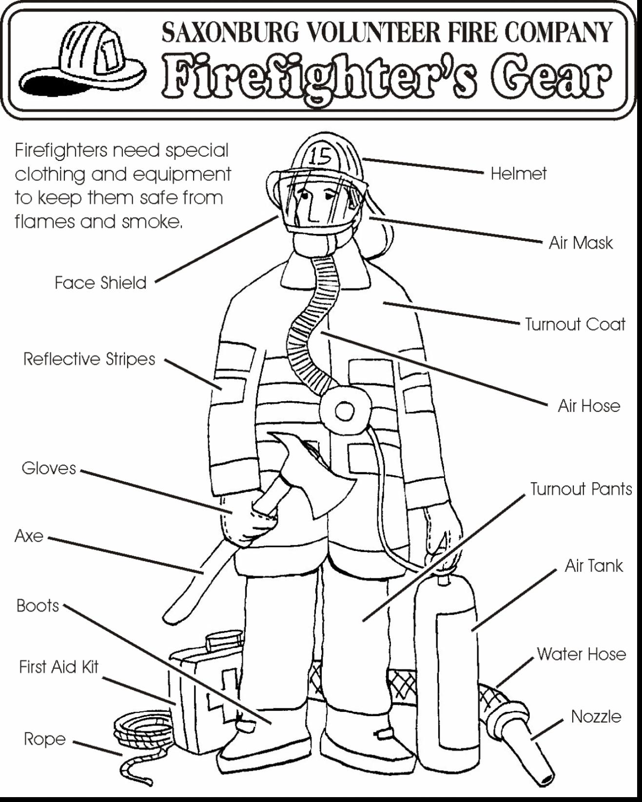 Fire Safety Coloring Pages At Getcolorings