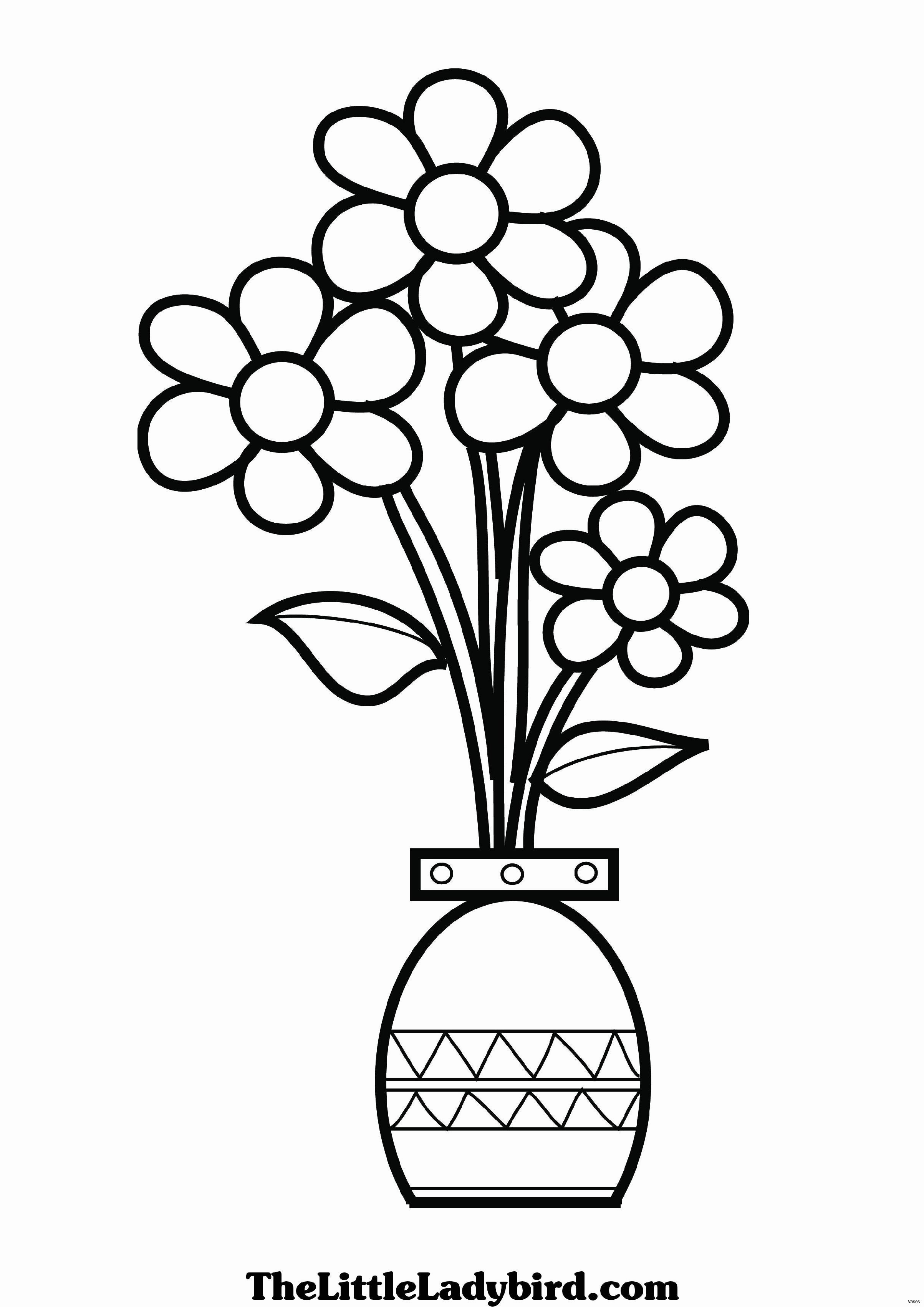 Flower Vase Coloring Pages At Getcolorings