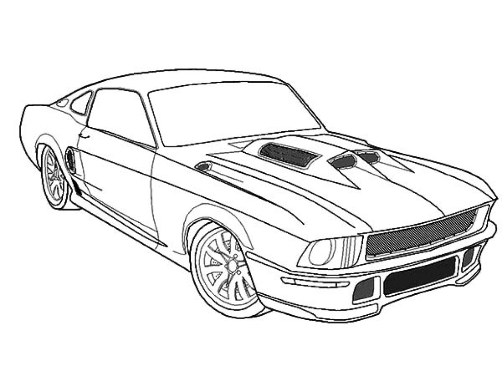 Ford Gt Coloring Pages At Getcolorings