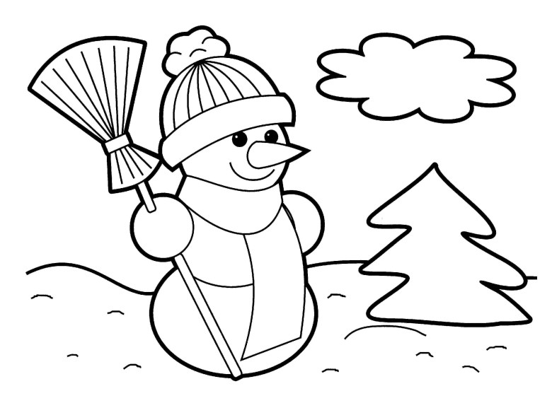 free printable christmas coloring pages for toddlers at getcolorings
