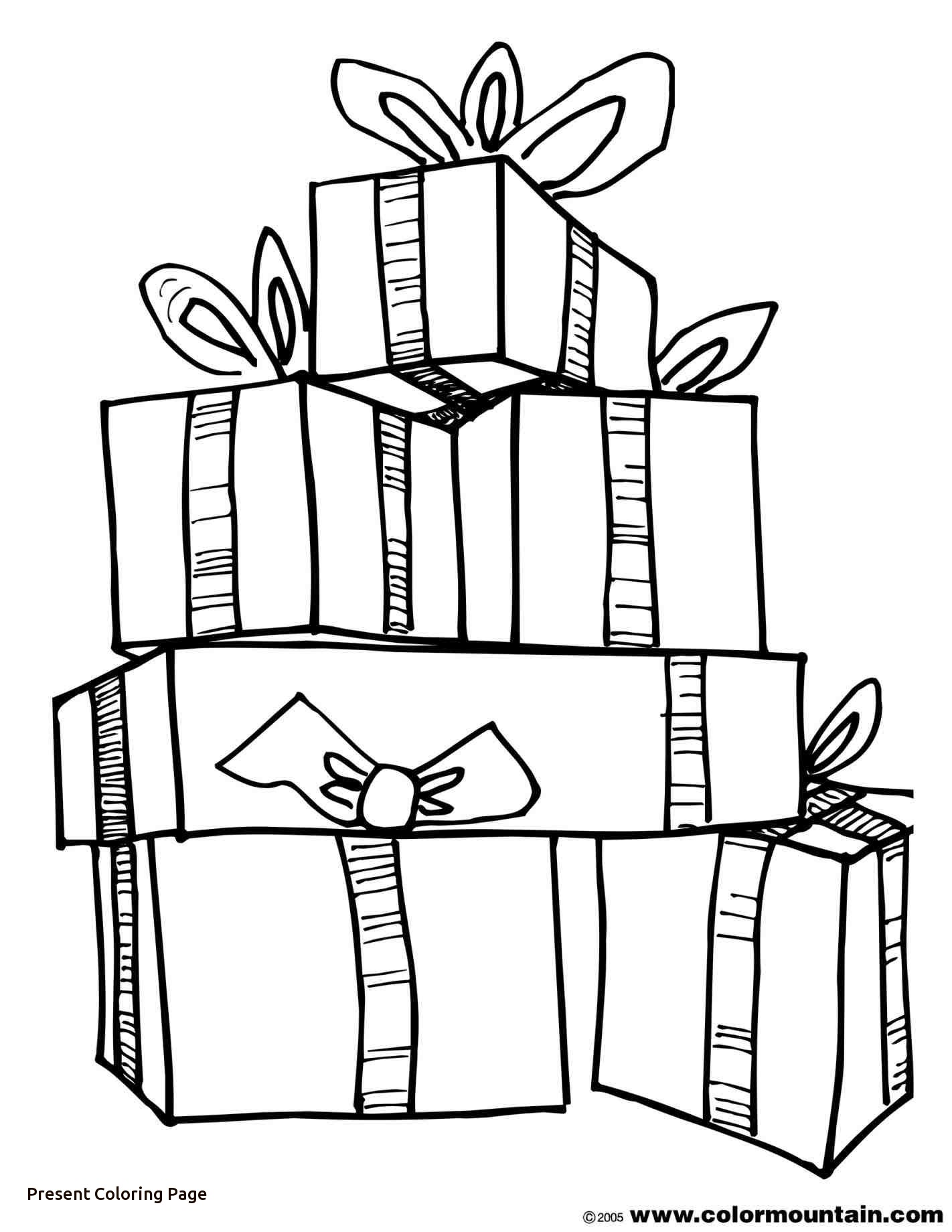 Free Printable Christmas Stocking Coloring Pages At