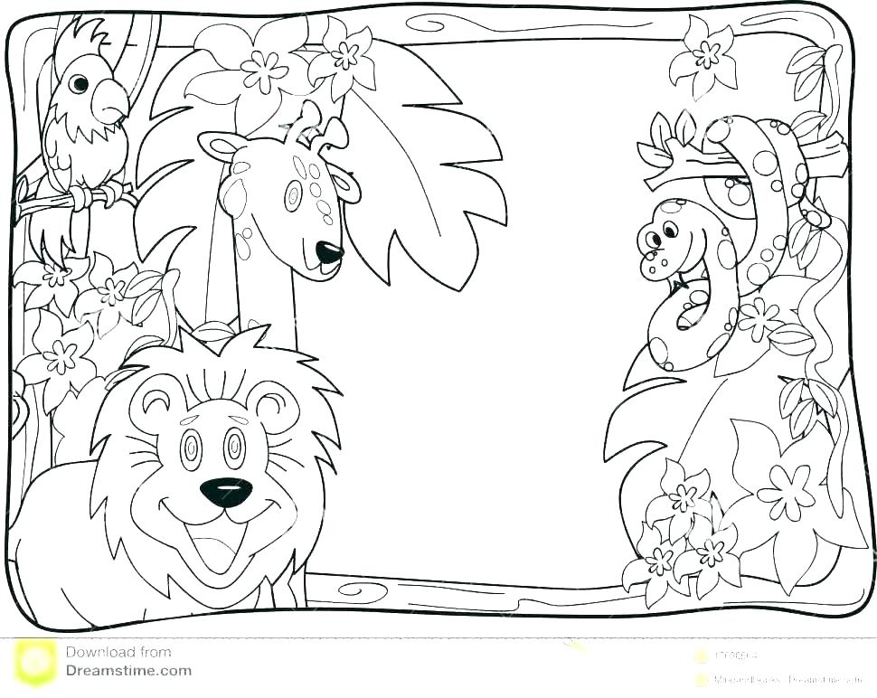 Aboriginal Coloring Pages at GetColorings.com | Free ... | free printable jungle animals colouring pages