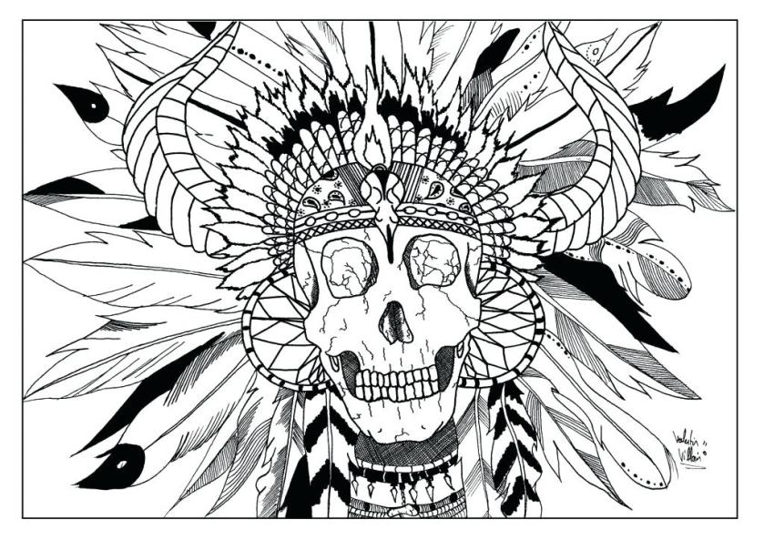 free printable native american coloring pages at