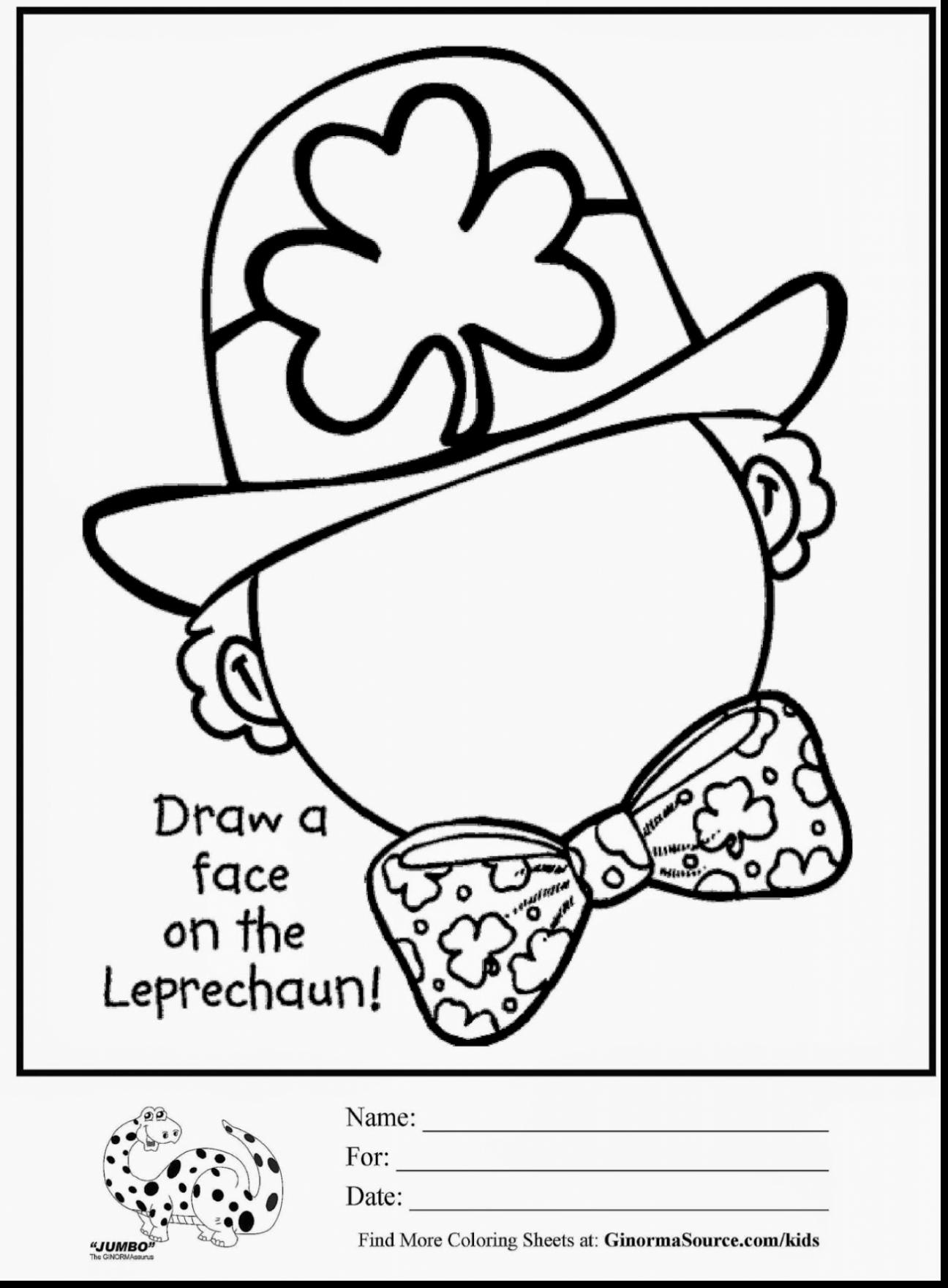 Free Printable St Patrick Day Coloring Pages At