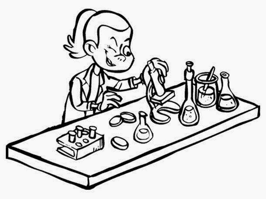 Free Science Coloring Pages At Getcolorings