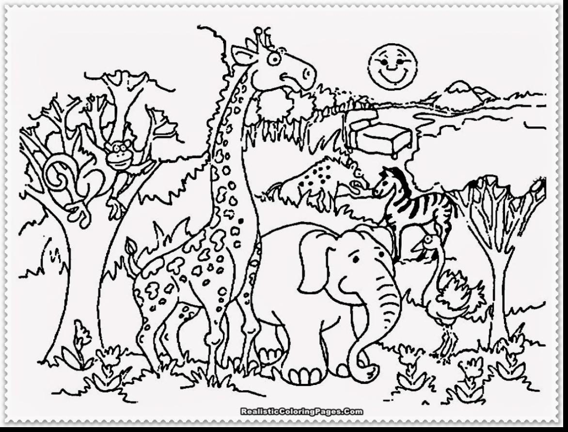 Free Zoo Animal Coloring Pages At Getcolorings