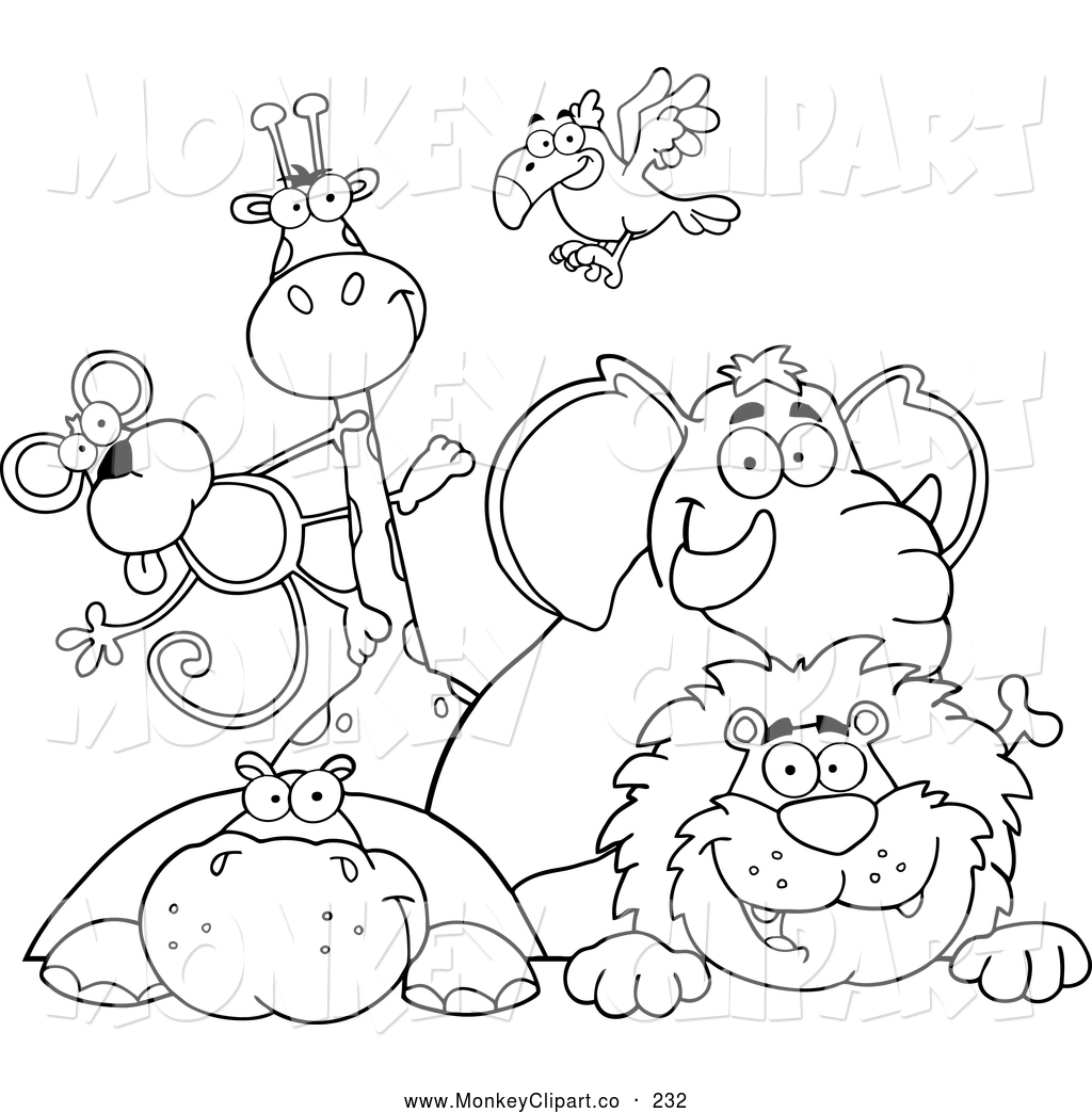 Zoo Animal Coloring Pages For Preschool At Getcolorings