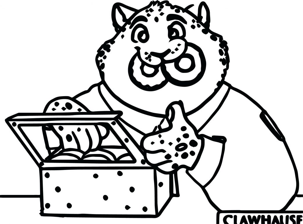 Fried Chicken Coloring Page At Getcolorings