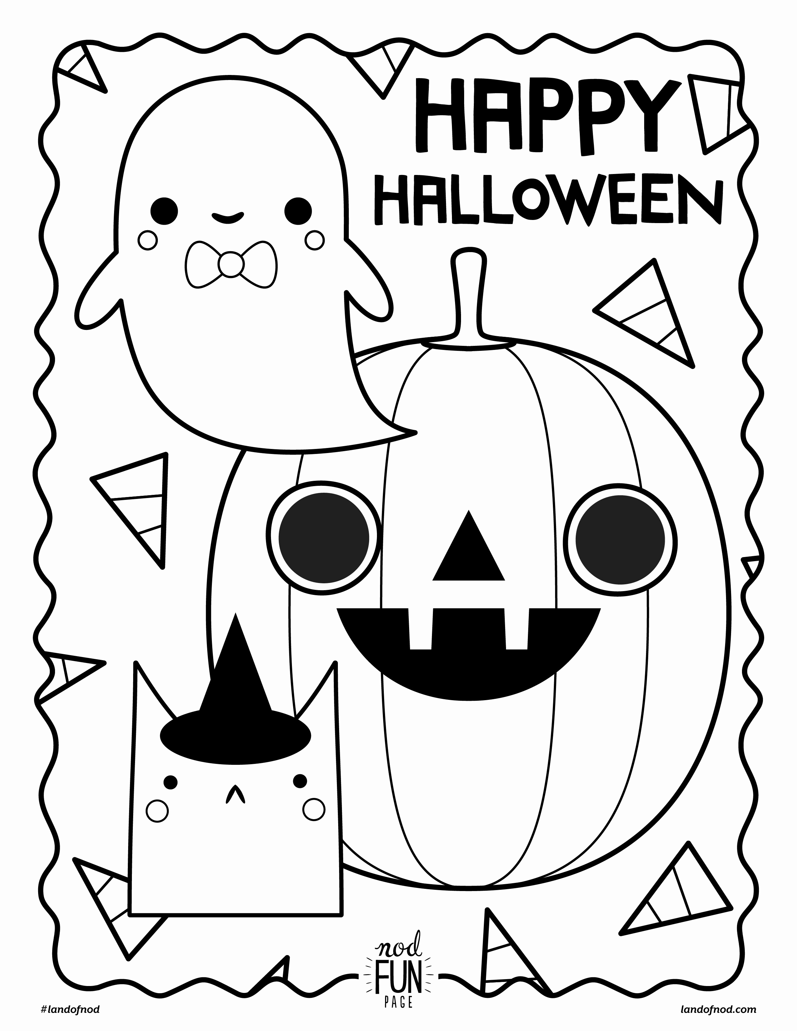 Fun Halloween Coloring Pages At Getcolorings