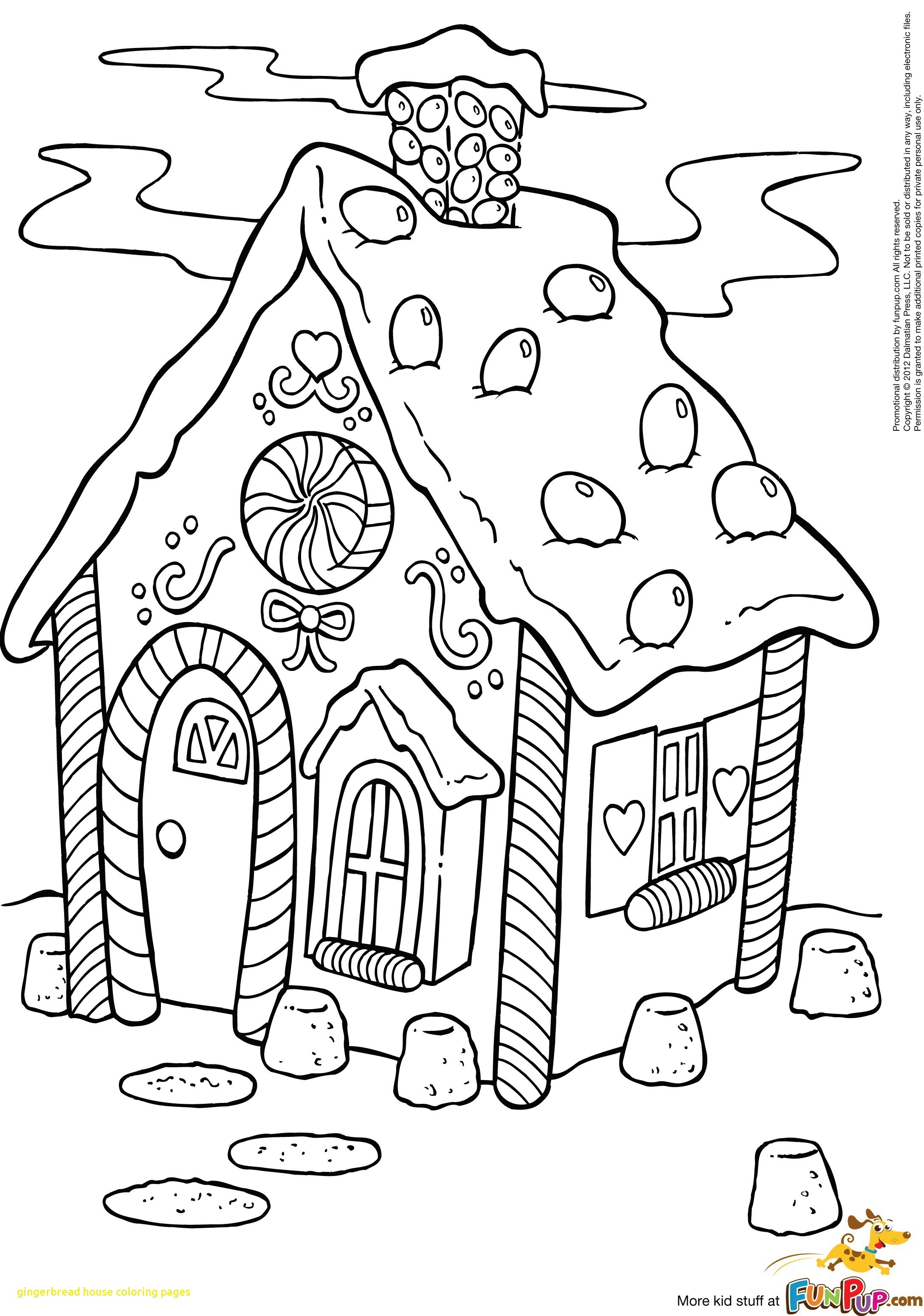 Gingerbread Man House Coloring Pages At Getcolorings