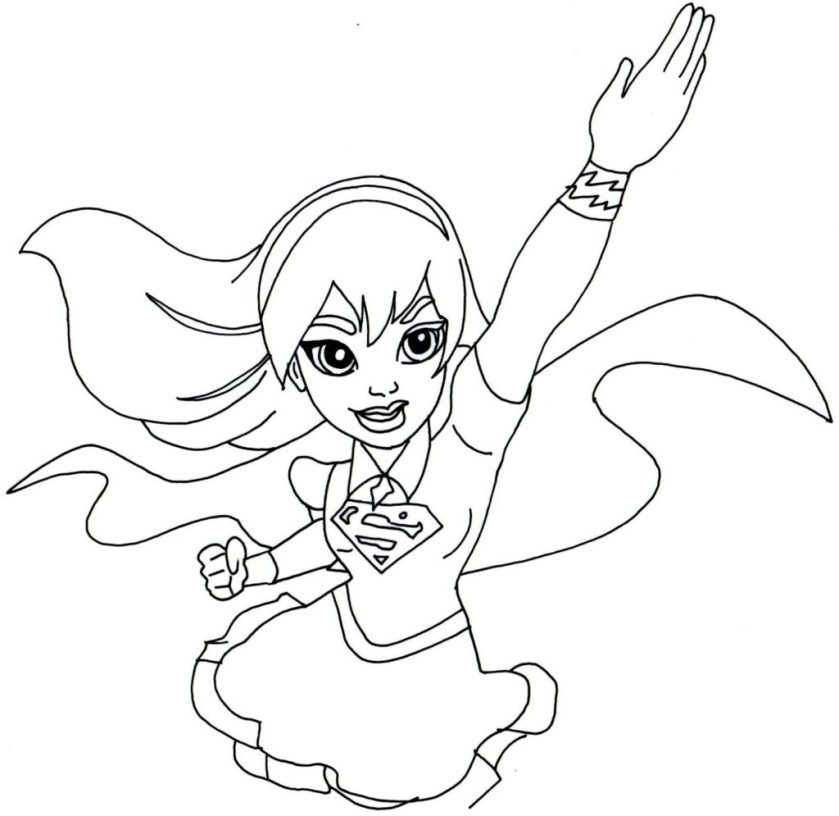 girl superhero coloring pages at getcolorings  free