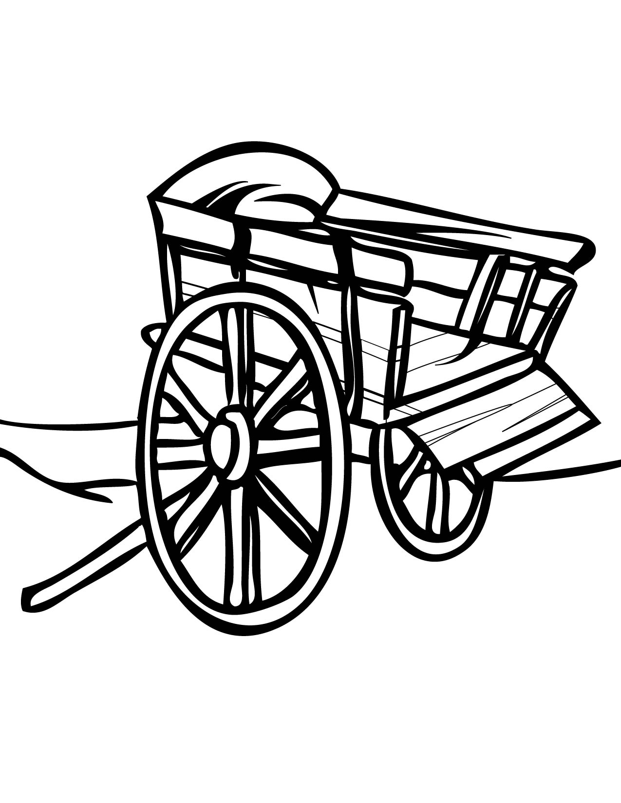 Free Golf Carts Coloring Pages Sketch Coloring Page