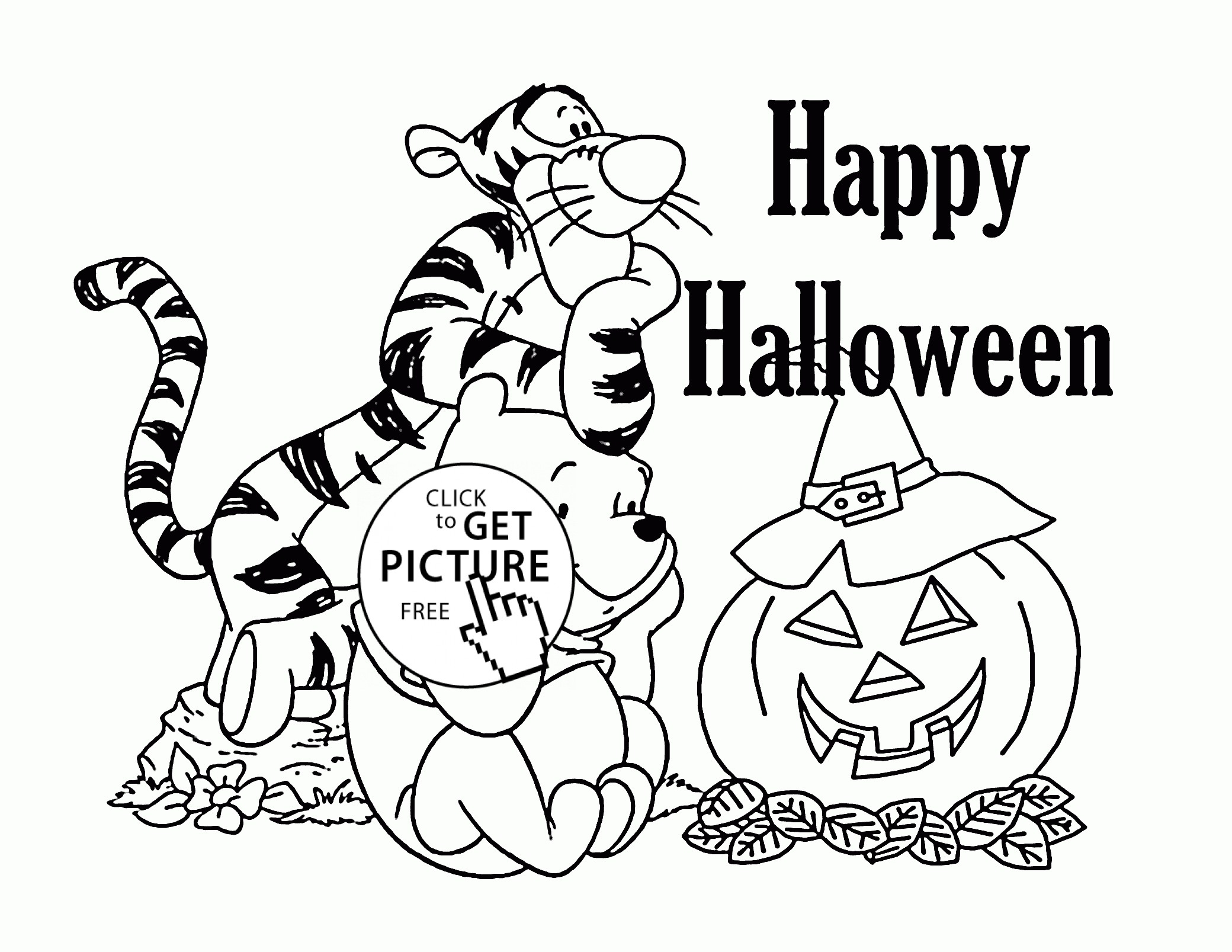 Halloween Coloring Pages For Kids At Getcolorings