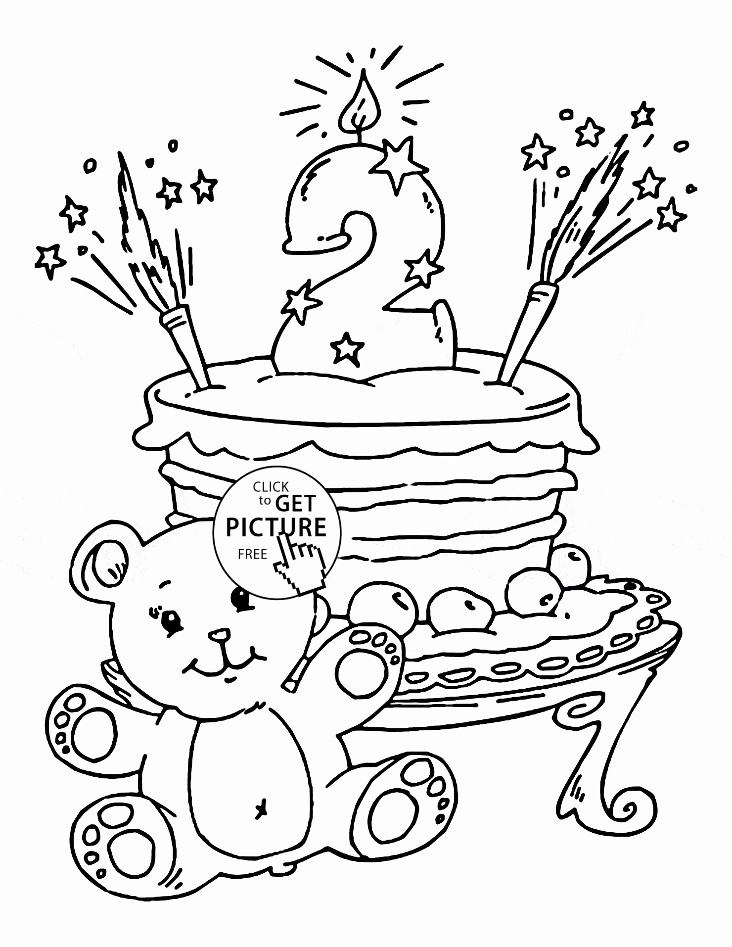 Happy 6th Birthday Coloring Pages At Getcolorings