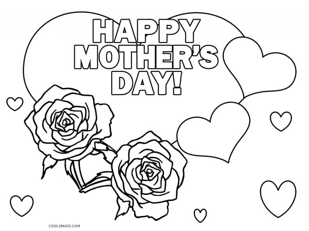 Happy Mothers Day Grandma Coloring Pages At Getcolorings