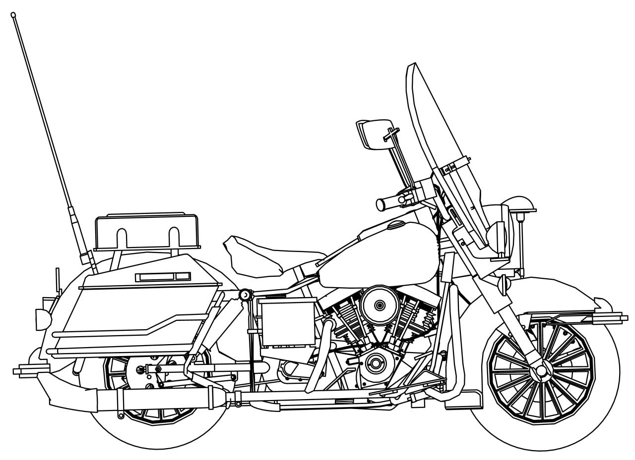 Harley Davidson Logo Coloring Pages At Getcolorings