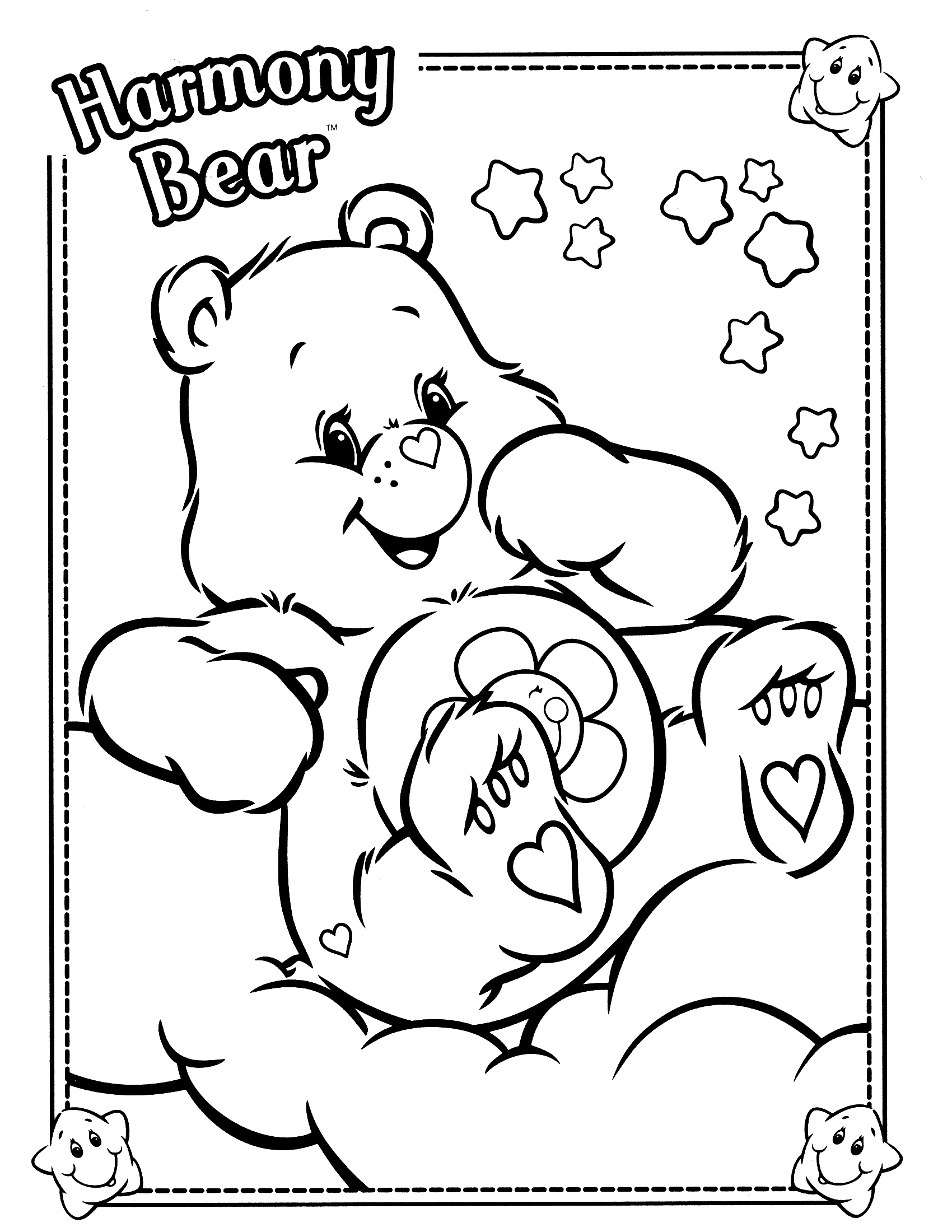 Harmony Coloring Pages At Getcolorings