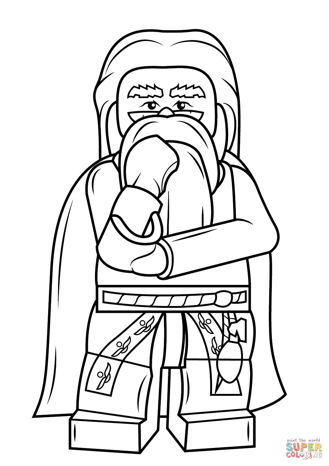 Harry Potter Coloring Pages Online At Getcolorings