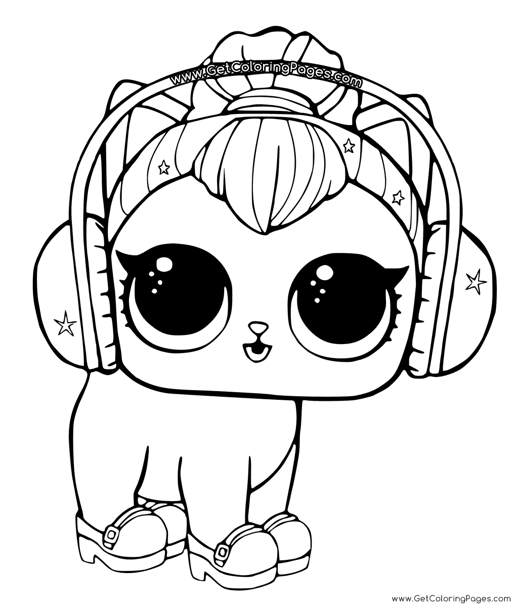 Headphones Coloring Page At Getcolorings