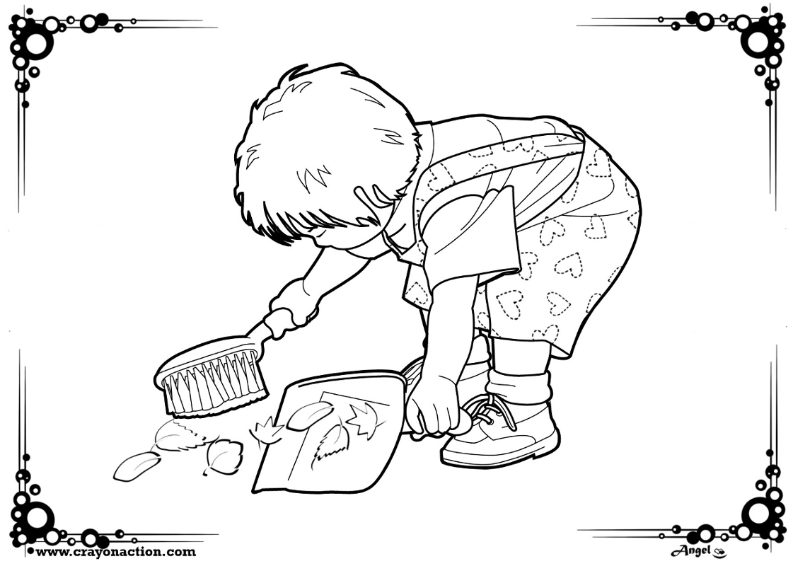 Helping Others Coloring Pages At Getcolorings