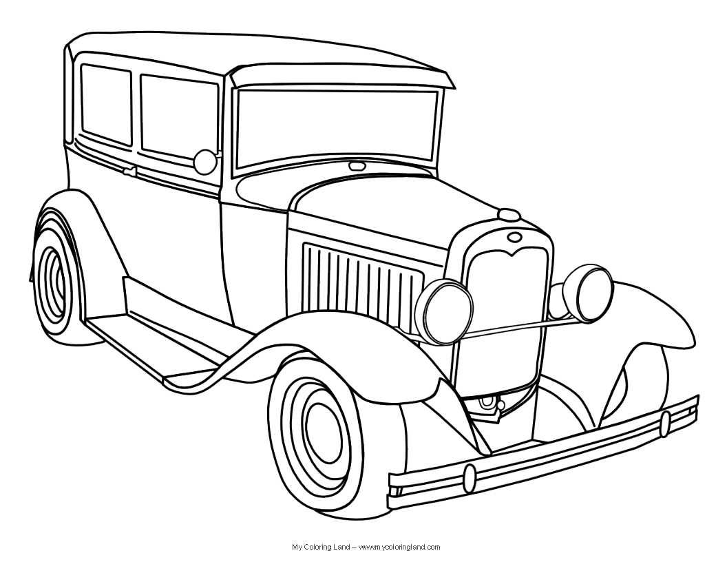 Henry Ford Coloring Page At Getcolorings