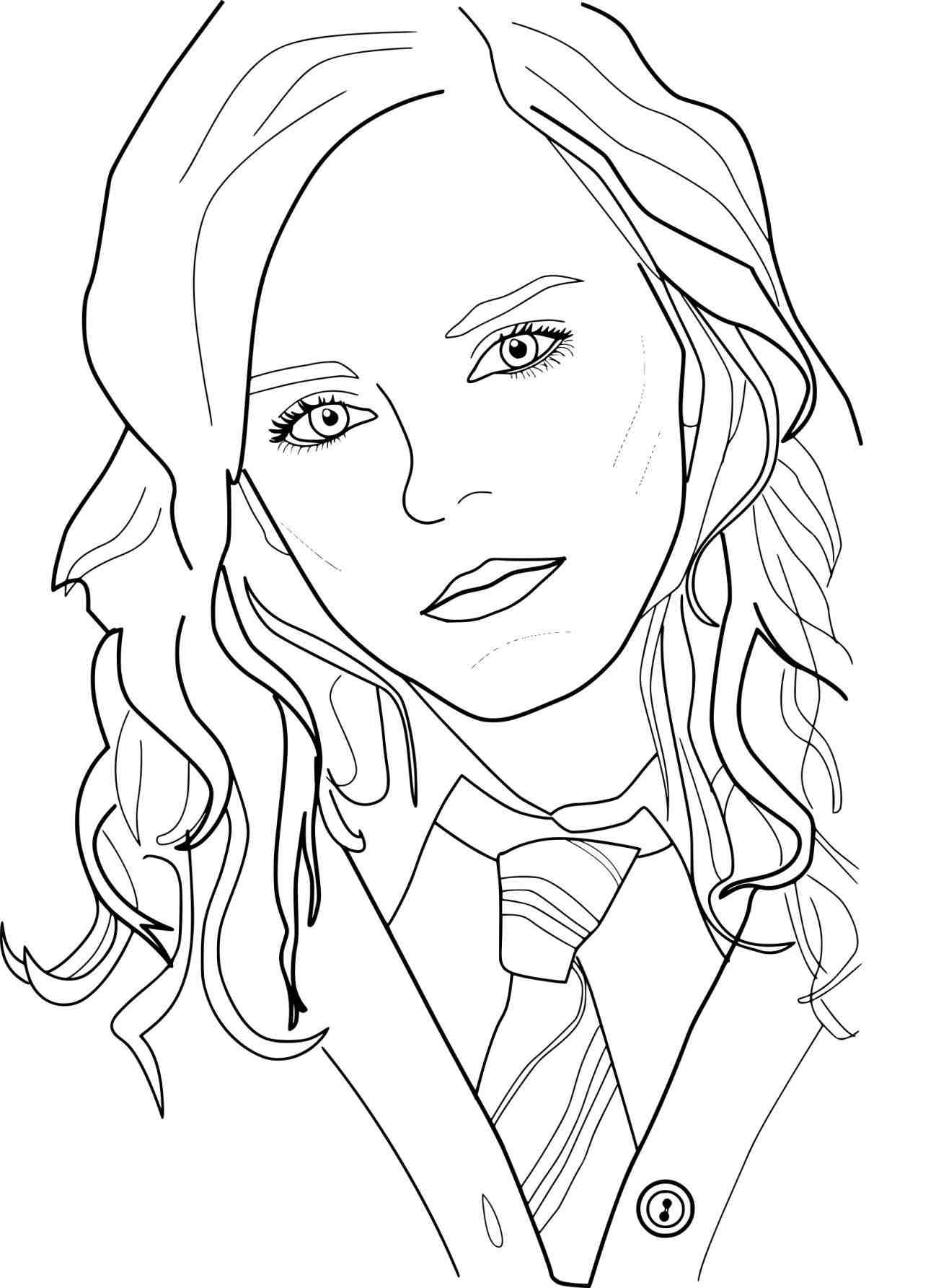 Hermione Granger Coloring Pages At Getcolorings