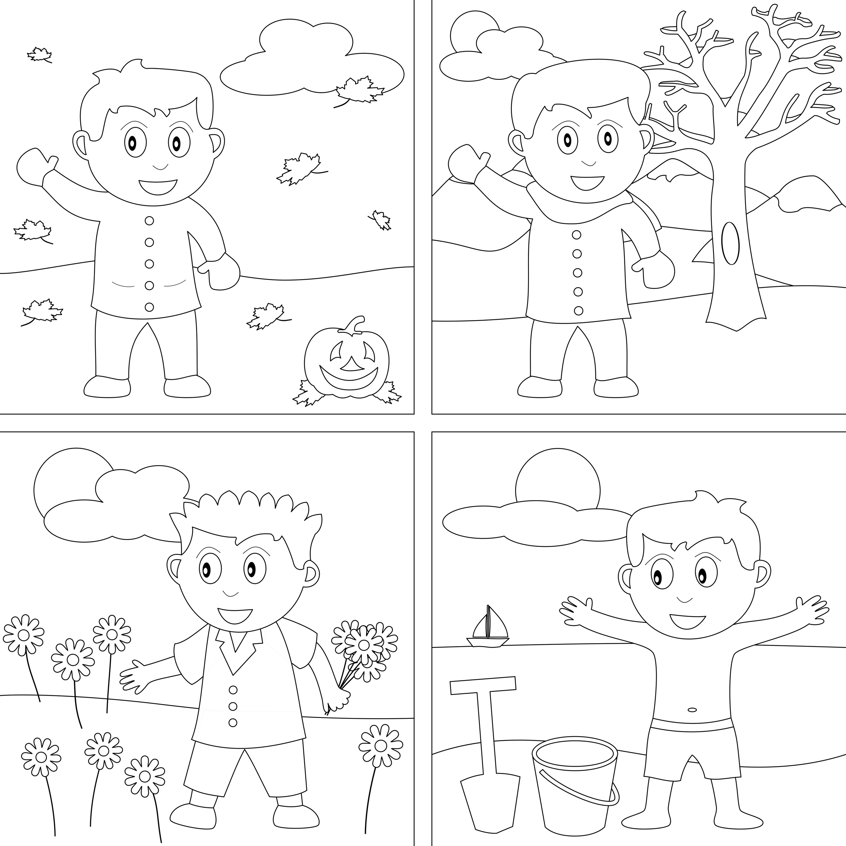 Hot And Cold Coloring Pages At Getcolorings