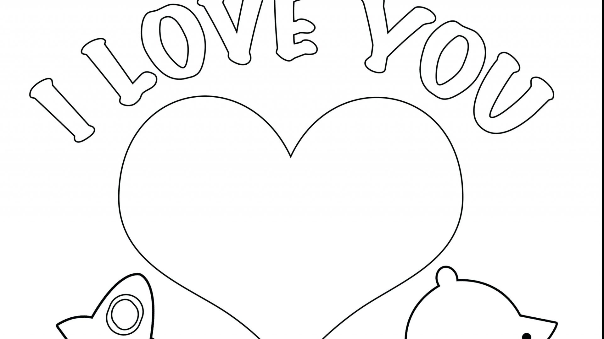 I Love Mom Coloring Pages At Getcolorings