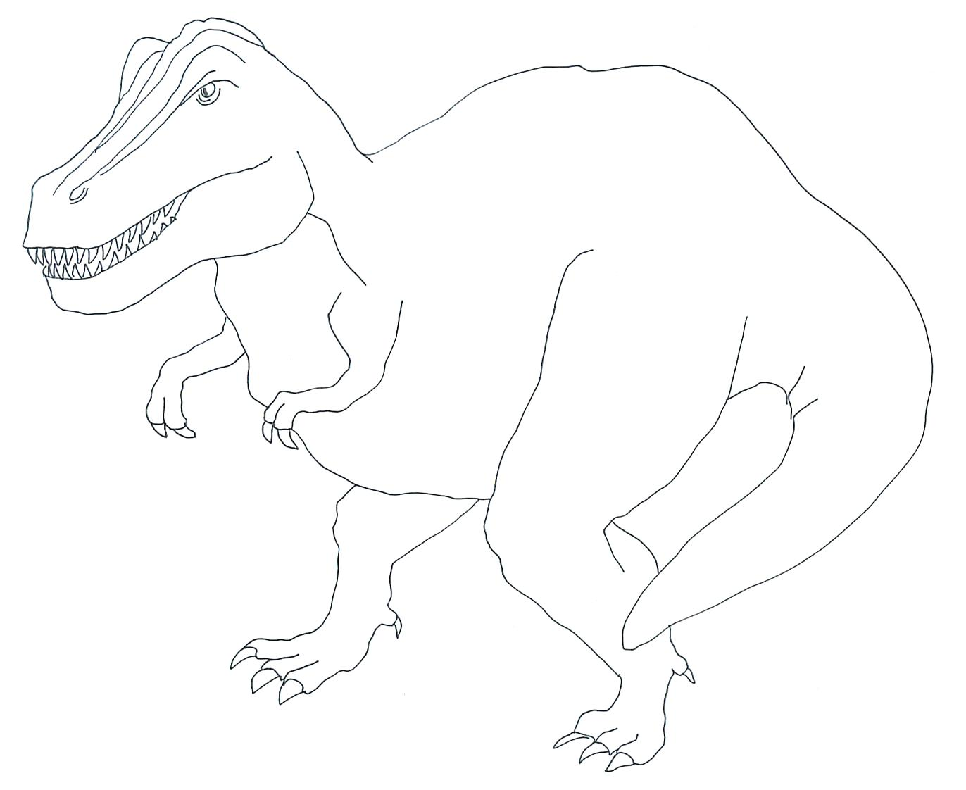 Indominus Rex Coloring Page At Getcolorings